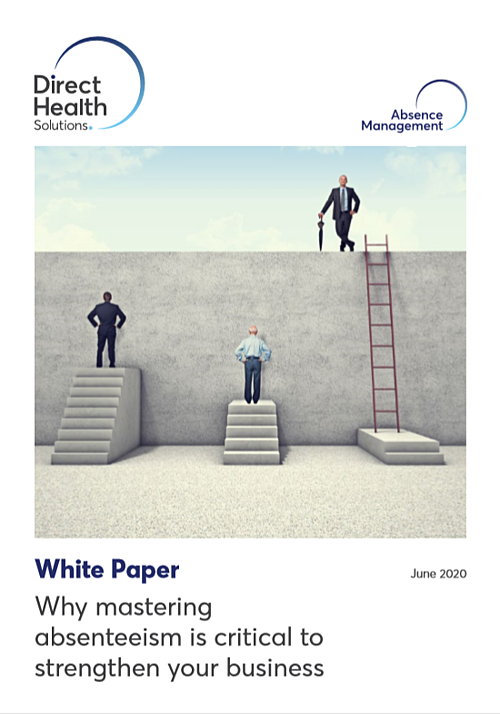 Absence Management White Paper_Front Cover Image
